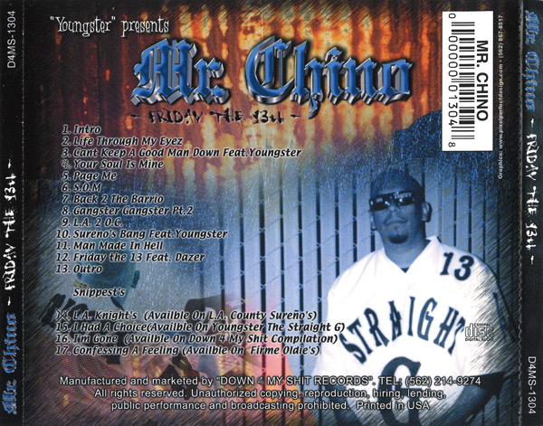 Mr. Chino - Friday The 13th Chicano Rap